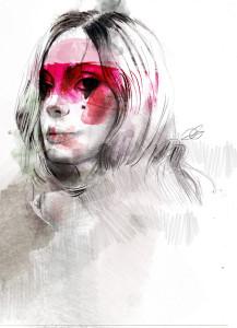 Maschera - Illustrazione