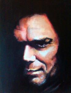 Dexter Morgan - Acrilico su tela