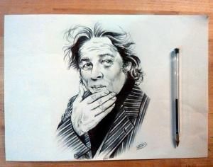 Benicio del Toro - Inchiostro su carta